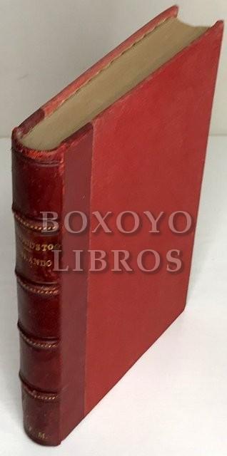 Orlando furioso di Lodovico Ariosto con le anotazione a clascun canto e con la notizie dell'autores per cura di Eugenio Camerini. Edizione integra