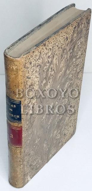Obras Completas de Marco Tulio Cicerón, Tomo III: De la naturaleza de los dioses - Del sumo bien y del sumo mal, Traducción de Marcelino Menéndez Pelayo