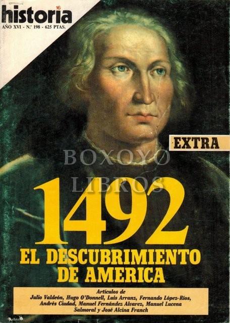 Historia 16. Año XVI. Nº 198