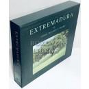 Extremadura en verde, blanco y negro