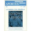 Aportes. Revista de Historia contemporánea. Nº 8. La Guerra civil española