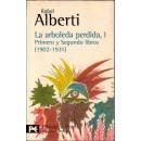 La arboleda perdida, 1. Primero y Segundo libros (1902-1931)