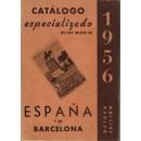 Catálogo especializado de los sellos de España y de Barcelona 1956