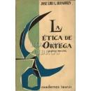 La ética de Ortega