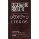 Diccionarios Rioduero. Geografía