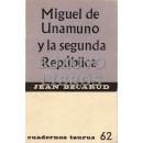 Miguel de Unamuno y la Segunda República