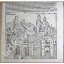Fragmento de hoja suelta del Liber Chronicarum (Die Schedelsche Weltchronik) de Hartmann Schedel.