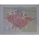 Enciclopedia Ilustrada Seguí. Plano y vistas de la ciudad de Castellón