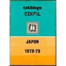 Catálogo EDIFIL Japón 1978-79