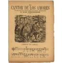 El Cantor de los amores. Colección de canciones de amor, dedicadas a las hermosas: Penas de amor (con partitura)/ Amores de Alfredo y Elvira