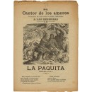 El Cantor de los amores. Colección de canciones de amor, dedicadas a las hermosas: La Paquita (Americana)/ Lolita la marinera (Americana)