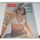 Los domingos de ABC. Suplemento semanal. 30 de junio de 1974. Portada: Carolina de Mónaco, una princesa en vacaciones
