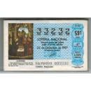 Lotería Nacional año completo 1987. 51 billetes