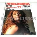 Revista Nuevo Fotogramas. Año XXXI. Núm. 1469. 10 diciembre 1976. Extra. Calendario 77. Una star para cada mes