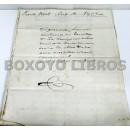 Daños causados por las tropas francesas en una finca de Puerto Real, año de 1823