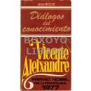 Diálogos del conocimiento. Por.../, Premio Nobel de Literatura 1977