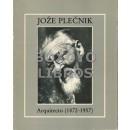 Joze Plecnik. Arquitecto (1872-1957). Exposición realizada por el C.C.I (Centro G. Pompidou) en colaboración con la República Socialista de Eslovenia, el Museo de Arquitectura y la Ciudad de Ljubljana