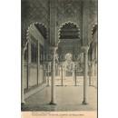 Tarjeta postal. Alcázarquivir: Patio del Cuartel de Regulares. Edición 'Casa Goya'
