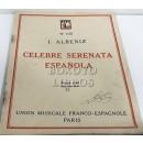 Célebre serenata española. Piano seul