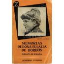 Memorias de Doña Eulalia de Borbón. Infanta de España