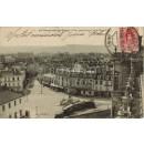 Tarjeta Postal. 67. St.Germain-en-Laye. Vue panoramique de la Place Thiers
