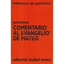 Comentario al evangelio de Mateo. Introducción y notas: Roberto Peña, OSB. Traducción: Hnas. Bernarda Biancho di Carcano y María Eugenia Suárez, OSB