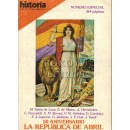 Historia 16. Año VI. Nº 60. 50 aniversario. La República de Abril