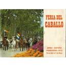 Feria del caballo. Dedicada a D. Juan José Zapata. Jerez. Primavera 1970