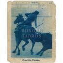 Hoja de calendario de diciembre de 1946 con fotografía en el reverso de Conchita Cintrón