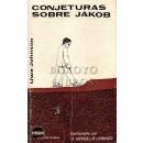 Conjeturas sobre Jacob. raducción, estudio, notas y comentario de texto, de úrsula Heinze y Ramón Lorenzo