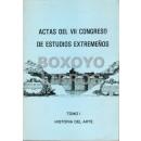 Actas del VII Congreso de Estudios Extremeños. Tomo I: Historia del Arte