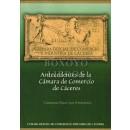 Antecedentes de la Cámara de Comercio de Cáceres